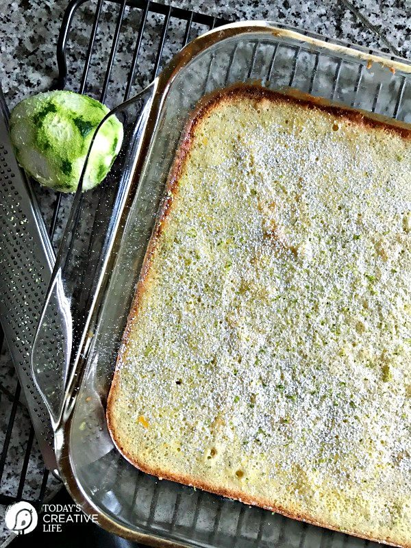Key Lime Bars with Lime Zest | TodaysCreativeLife.com