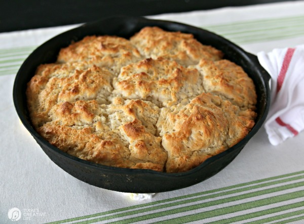 7up Biscuits Skillet Style
