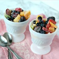 Fruit Salad Recipe with Sour Cream Dressing