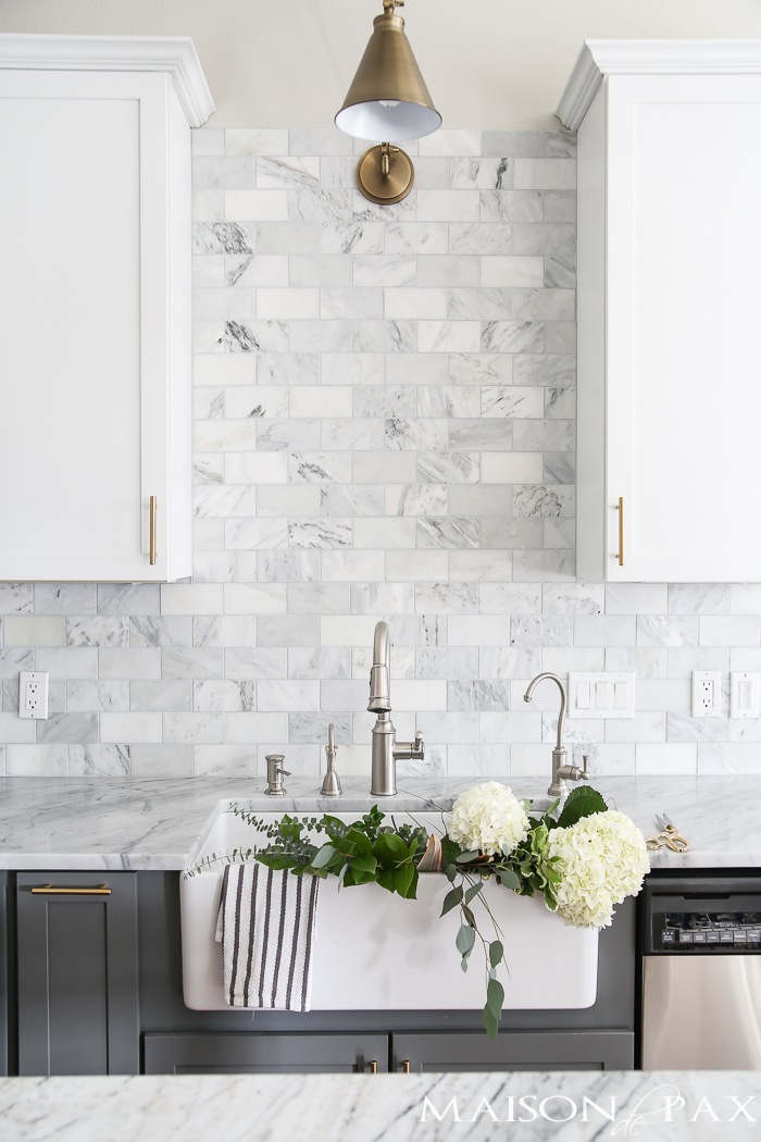 Spring Home Tour MaisonDepax | https://www.maisondepax.com/2017/03/where-to-find-affordable-tile-stone-and-wood.html