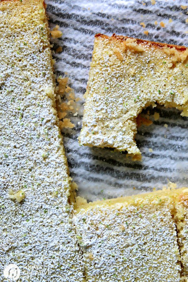 Key Lime Bars with Lime Zest
