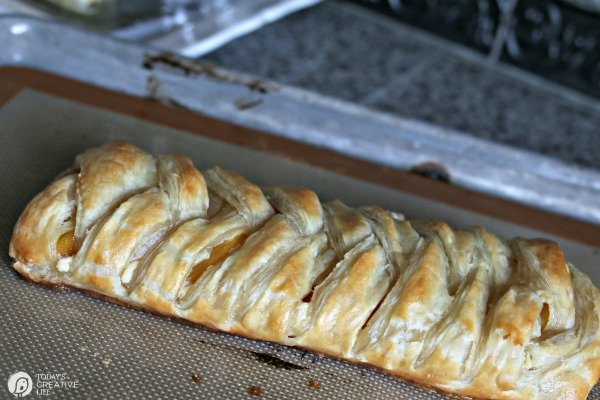 Puff Pastry Braid