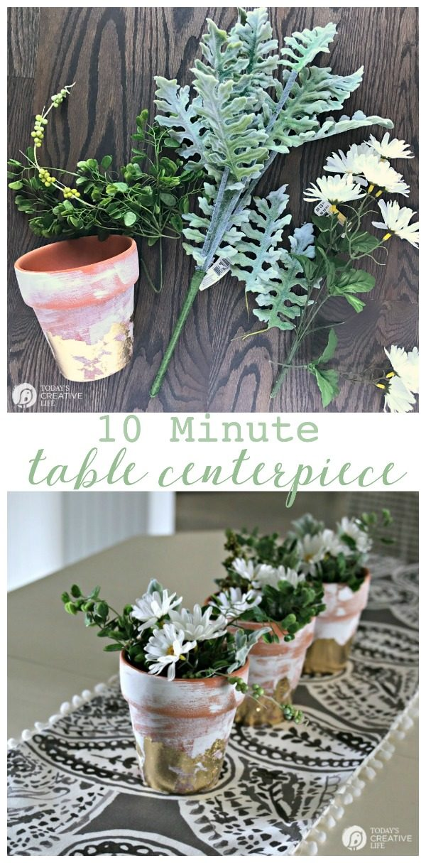 Table centerpiece ideas simple 10 minute decorating for Everyday table centerpiece ideas