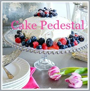 DIY Cake Pedestal