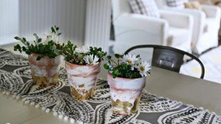 Table Centerpiece Ideas - Simple 10 Minute Decorating