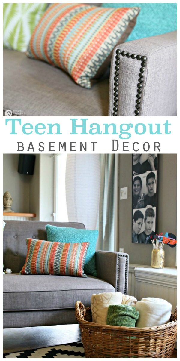 Finished Basement Ideas Teen Hangout Todays Creative Life