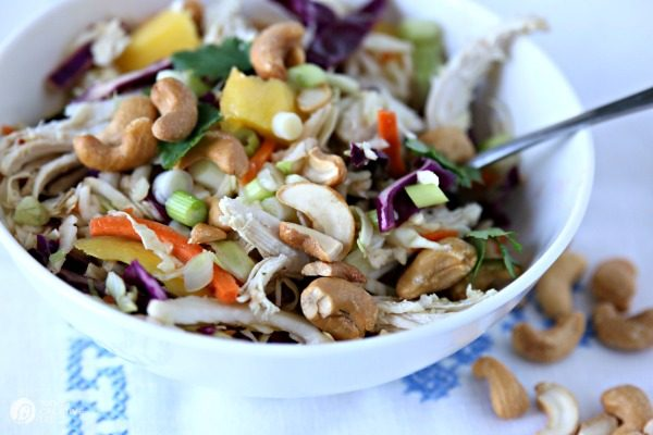 Mango Chicken Salad with Cashews \ TCL