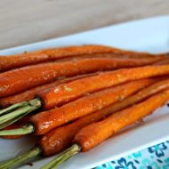 Honey Roasted Carrots with Garlic