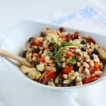 Mediterranean Bean Salad Recipe