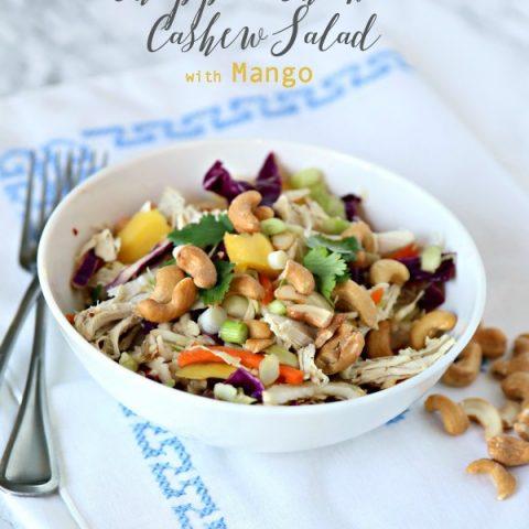 Mango Chicken Salad with Cashews | Todayscreativelife.com