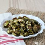 Roasted Brussel Sprouts with Parmesan and Balsamic Recipe | topped with a balsamic glaze gives this recipe that delicious taste. Great for holiday or every day side dish. Click the photo for the recipe. TodaysCreativeLife.com