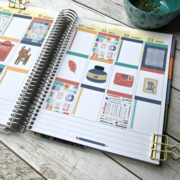 Free Printable Planner Stickers | Organize your life with life planner stickers. Print your own. JulieChats for TodaysCreativeLife.com