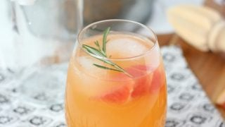 Grapefruit Spritzer Summer Cocktail Recipe