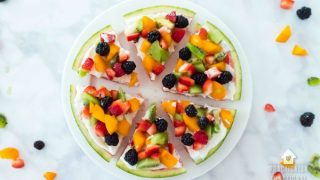 Watermelon Pizza Dessert Recipe