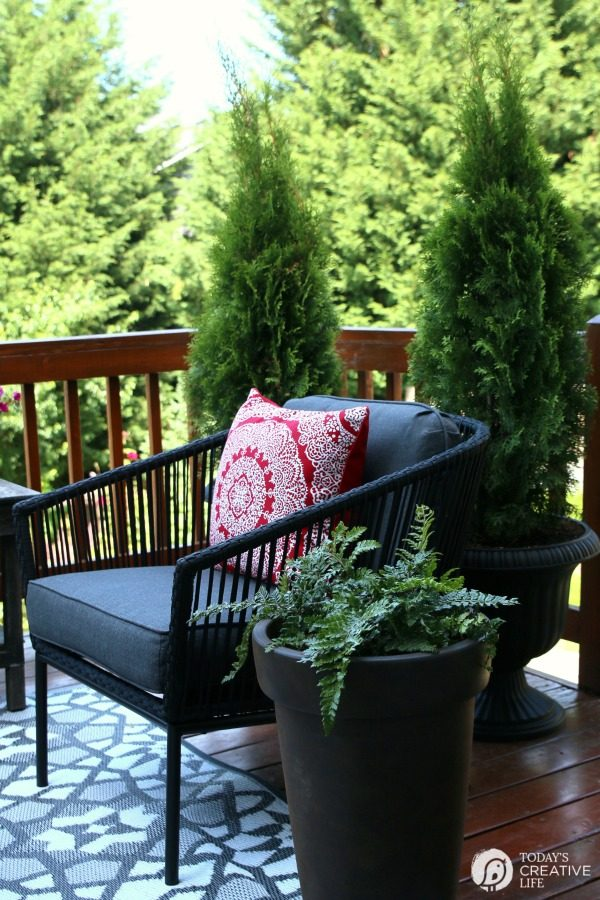 Small Patio Decorating Ideas - My Patio | Today's Creative ... on Small Outdoor Patio Ideas id=47792