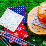 DIY Coasters – Patriotic Sewing Craft