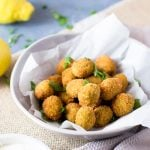 Fried Sausage Stuffed Olives | Finger Foods | Appetizer Recipes | Party Appetizer | Authentic Italian Recipes from The Rustic Kitchen for TodaysCreativeLife.com