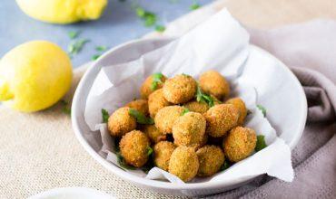 Fried Sausage Stuffed Olives