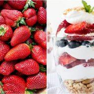4th of July Desserts – Summer Berry Parfait