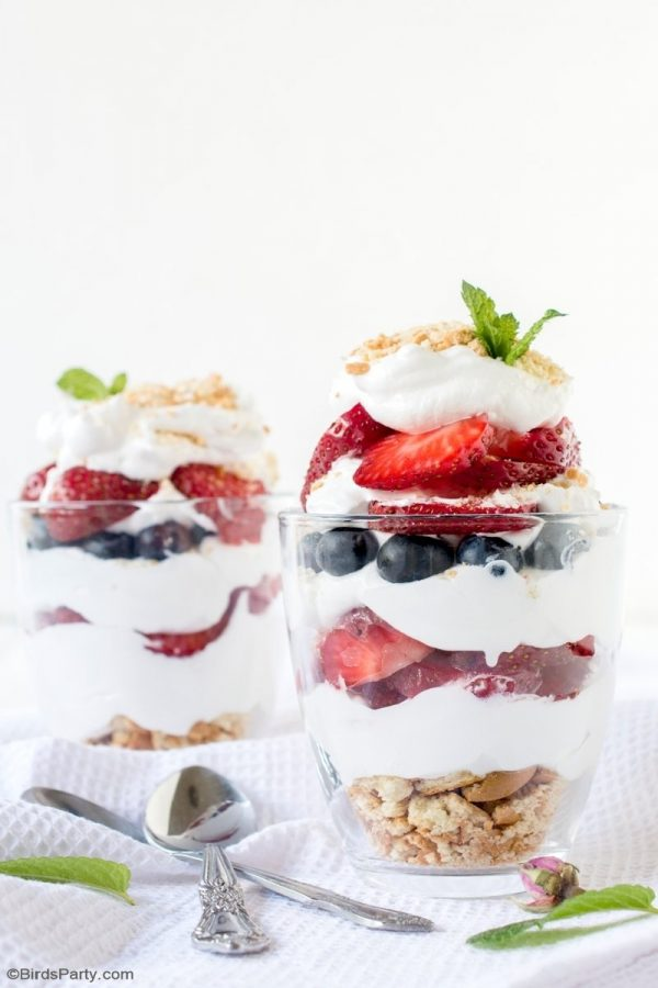 Summer Berry Parfaits