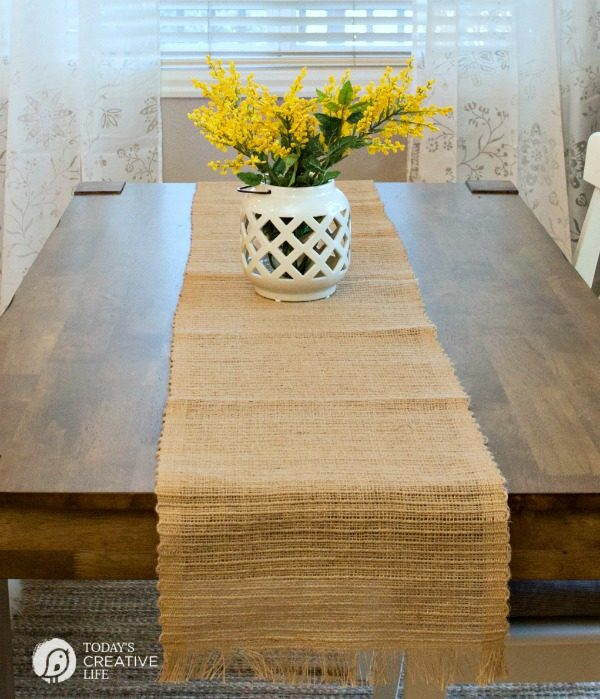 Breakfast Nook Makeover | Kitchen nook ideas for simple and stylish decorating on a budget. Farmhouse style from Better Homes and Gardens.
