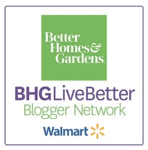 Better Homes and Gardens Live Better Blogger Network