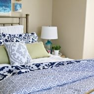 Guest Bedroom decorating ideas on a budget. TodaysCreativelife.com