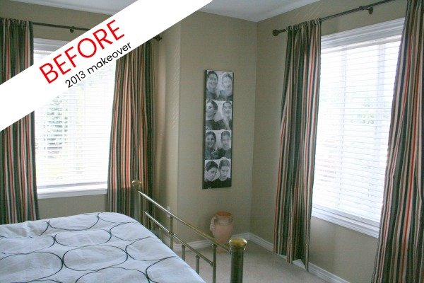 Guest Room Makeover BEfore and After