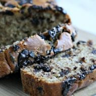 Buttermilk Banana Bread with Chocolate Chunks