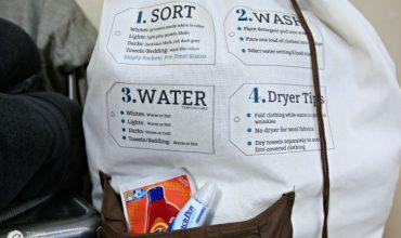 Dorm Room Essentials – Laundry Bag Iron On Tips