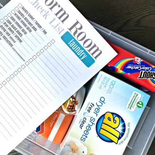 Dorm Room Check List   TodaysCreativeLife.com