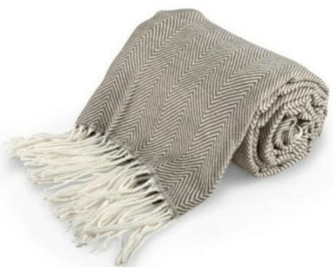 Dorm Room Essentials | Cotton Throw blanket from BHG