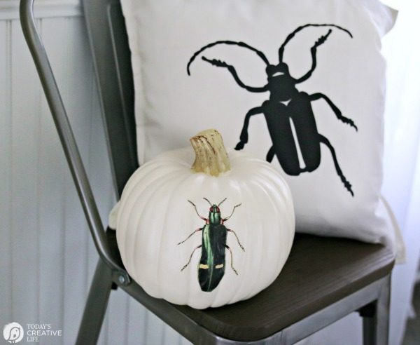 Cricut EasyPress Heat Press Bug Pillow | TodaysCreativeLife.com