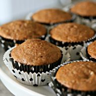 Carrot Banana Walnut Muffins