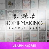ULTIMATE HOMEMAKING BUNDLE FLASH SALE