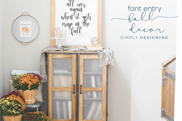Free Fall Printable Wall Decor by Simply Designing