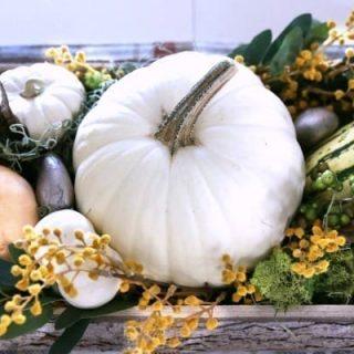 DIY Fall Decor | Easy Table Centerpiece for Fall or Thanksgiving. TodaysCreativeLife.com