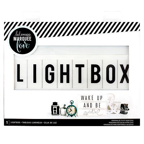 Heidi Swapp Light Box Bundle | TodaysCreativeLife.com