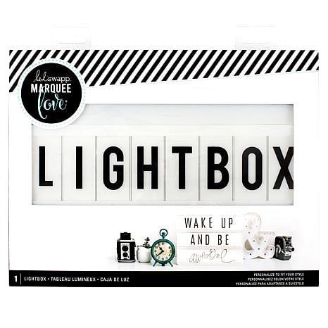 Heidi Swapp Light Box Bundle | TodaysCreativeLife.com