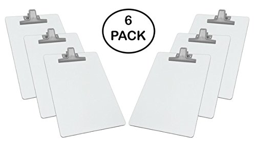 white clipboards - amazon