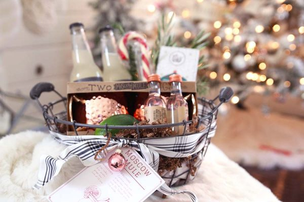 Moscow Mule Holiday Gift Basket | MOdernGlamHome