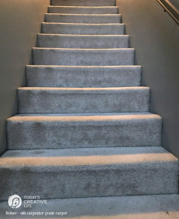 Waterfall Method Stairs Carpet | TodaysCreativeLife.com
