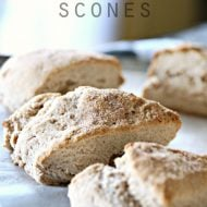 Cinnamon Sugar Sour Cream Scones