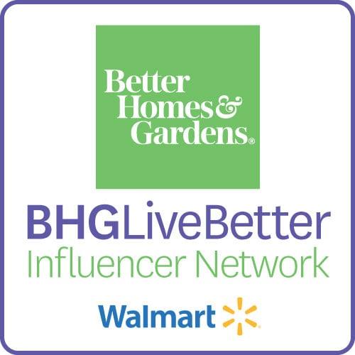 Better Homes and Gardens BHGLiveBetter Influencer