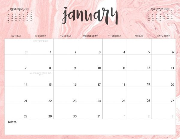 Inspirational Free Printable 2018 Calendar Today S Creative Life