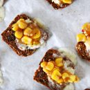 Brie and Corn Salsa Bites Easy Appetizer