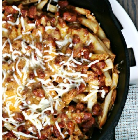 Chili Cheese Fries Recipe | Skillet or Pan