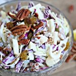 Fruit Cabbage Salad Recipe | Spring & Summer Salad | Easter Salad | Brunch Fruit Salad | Easy Fruit Salad Recipe | TodaysCreativeLife.com