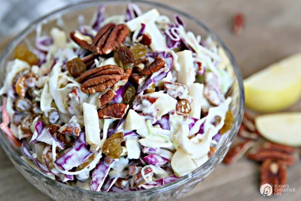 Fruit Cabbage Salad Recipe | Spring & Summer Salad | Easter Salad | Brunch Fruit Salad | Easy Fruit Salad Recipe | TodaysCreativeLife.com