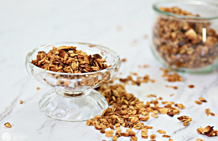 Toasted Almond Pecan Peanut Butter Granola